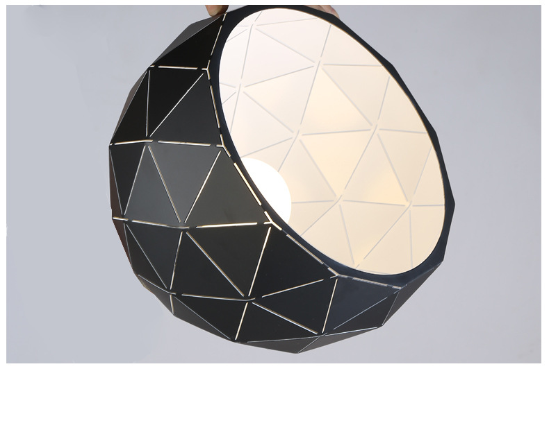 Details Of Metal Pendant Light
