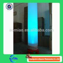 Tube d'éclairage gonflable colonne d'éclairage gonflable produit d'éclairage gonflable de haute qualité