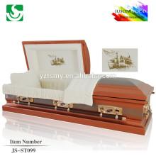 buy cremation wooden casket JS-ST099