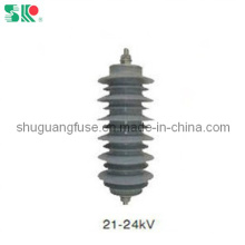 Metal Oxide Surge Arrester with 21kv-24kv (YH5W-21, YH10W-21)