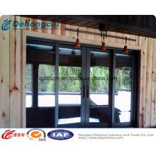 Vente chaude glissant la fenêtre en aluminium d'UPVC