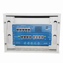 Caixa multimídia com porta telefônica / Porta de dados / Porta de TV (STMB01-D)
