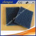 Tampon à récurer d'oxyde d'aluminium / carbure de silicium pour l'usage de nettoyage de cuisine