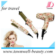 China Factory Mini Set Hair Straightener Curler Dryer for Travel