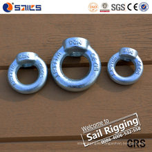 Hardware Rigging Galvanized Eye Nut with DIN 582