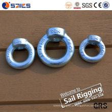 Porca de olhal galvanizada com norma DIN 582