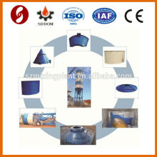 Nouveau calce de ciment de conception Piece type silo de ciment de 50 tonnes avec tous les accessoires