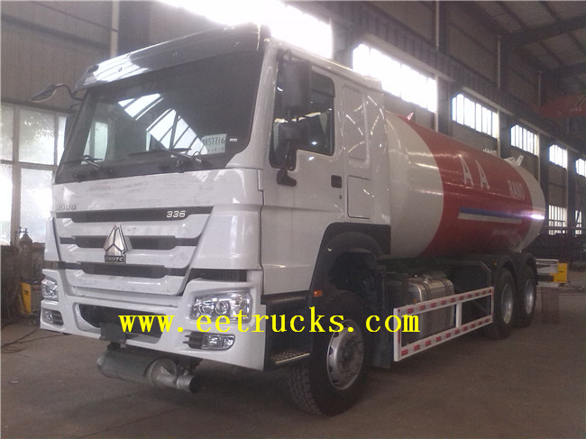 LPG Filling Trucks with Dispenser