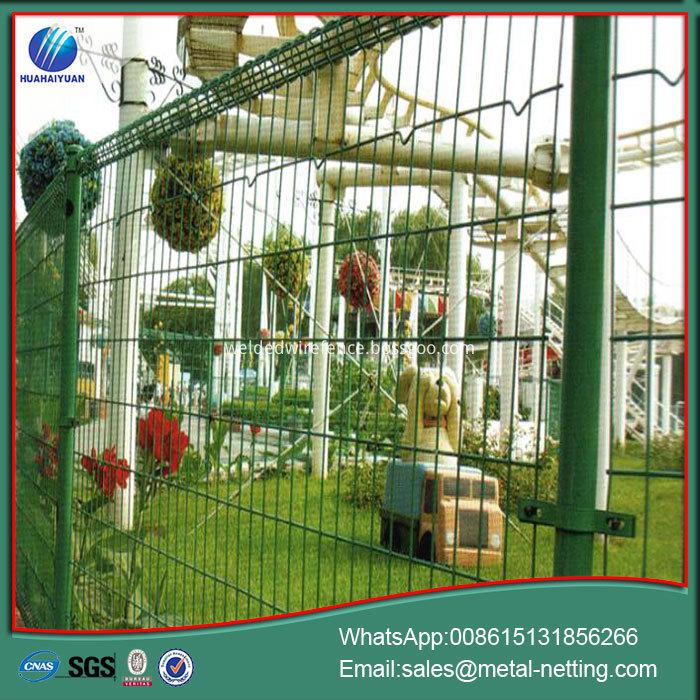garden top loop fence
