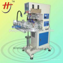 Impressora quente da almofada de transporte das cores da venda 3 para o plástico, o vidro, produtos de metal para o tamanho pequeno