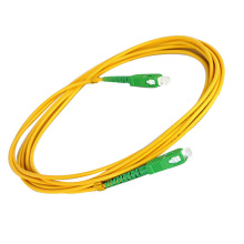 SM SC Connector Simplex Fibra Óptica Patch Cord
