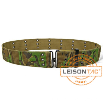 Military Tactical Camouflage Canvas Belt with ISO Standard