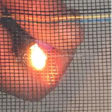 Red de la ventana de la protección solar de la fibra de vidrio