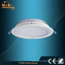 Lámpara de techo LED ultra delgada de alta potencia Downlight