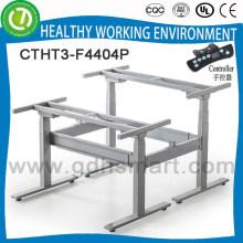 Современный дизайн стоять офисный стол рамка из Китая&электрическое управление регулируемая по высоте стол мебель