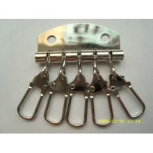 Kundenspezifische hochwertige Metall-Schlüsselringe