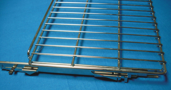 Movable Oven Bracket with Slides