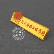 Insignia especial de la universidad, tarjeta del pecho de la escuela (GZHY-LP-031)
