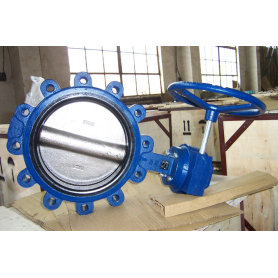 Worm Gear Lug Typ Butterfly Valve