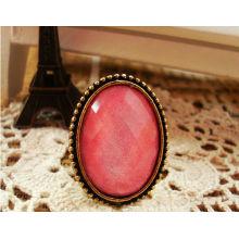 2014 Mode rosa Edelstein Ring