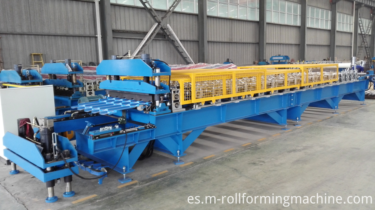 Sheet metal rolling forming machine systems
