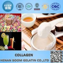 Colagène de poisson utilisé comme matière première cosmétique dans les produits de beauté