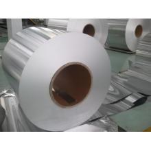 Bobina de aluminio para el material en papel