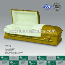 Wooden caskets