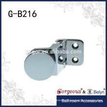 Made in China 90 degree brass wall to glass door hinge