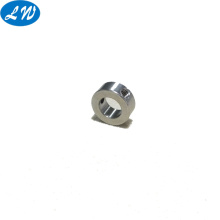 Hollow threaded steel bolt for wiring part