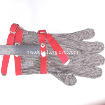 Anti Keratan Chainmail Mesh Gloves