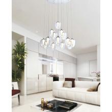 Decoración moderna acrílico LED luces colgantes (AD15002-14B)