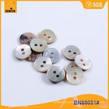 Natural Agoya Botón Real Shell para la Camisa BN80051