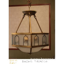 2012 Latest Gorgeous and Luxury Copper Brass Pendant Lamp
