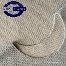 Tissu en nid d'abeille en fibre de polyester et coton chaud