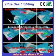 Cheap led interactive night club buy disco dance floor