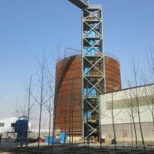 Aplicación estándar del elevador de cangilones Cema / ASTM / DIN / Sha en la planta de cemento