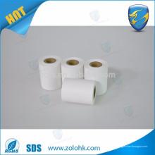 Usine de papier thermique 87mm * Lame de dégagement de 35 mm 80gsm Rouleau de papier direct blanc vierge pour pos et caisse enregistreuse