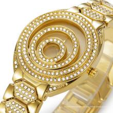 2016 Роскошные золотые женские наручные часы