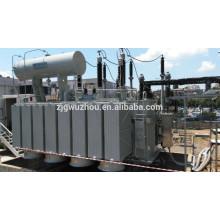 3 fases 115kV 80MVA aceite sumergir transformador de potencia con el precio