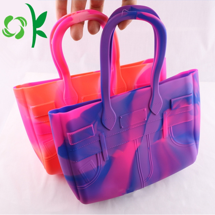 Silicone Shoulder Handbag