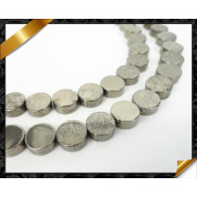 Natural High Quality Flat Coin Round Beads Fashion Stone Wholesale (GB0104)
