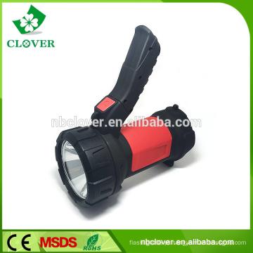 4 * bateria AA levou fashlight 3W levou recarregável camping lanterna