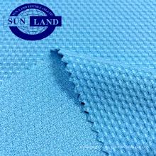 maille finition polyester maille nid d'abeille pour manteau de sport