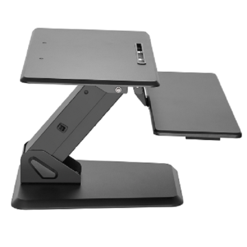Manufacturing Companies for for Standing Desk Converters Gas Spring Sit-Stand Desktop Workstation Laptop Modern MDF Workstation export to China Taiwan Factory