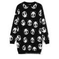 13STC5229 jacquard sweater design for ladies crewneck sweater