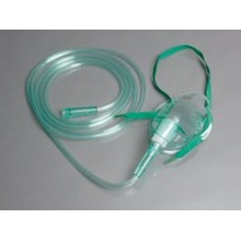 Медицинская кислородная маска медицинского ПВХ одноразового использования
