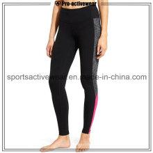 OEM Service Sublimação Sport Calças Calças Mulher Tecido Yoga Leggings