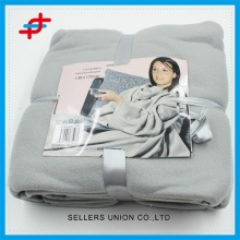 Brushed Wholesale TV Blanket/Polyester TV Throw For Adults