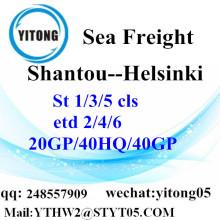 Ocean Freight From Shantou to Helsinki